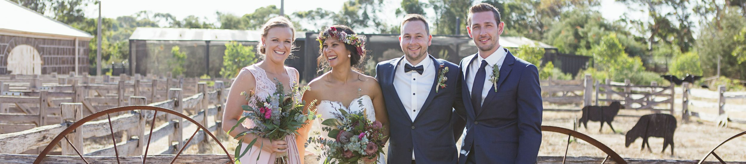 Werribee Zoo Wedding Farm